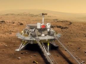 Ini Dia Robot Mars Buatan China SainganCuriosity