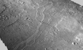 Fosil Kuno Diduga Tertimbun di Bekas SungaiMars