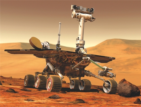 Rover Opportunity.