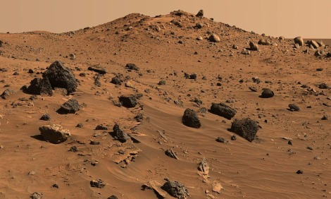permukaan mars