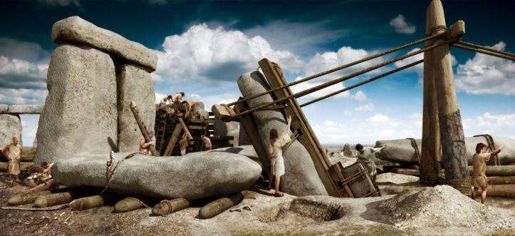 construction-of-stonehenge